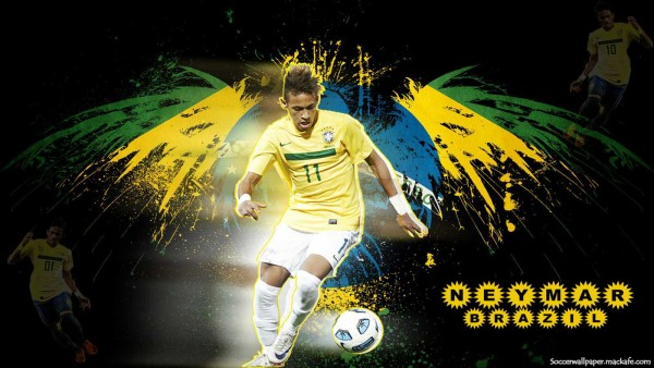 "Neymar HD Wallpapers 2015 - Right Click ""Save Target As"""