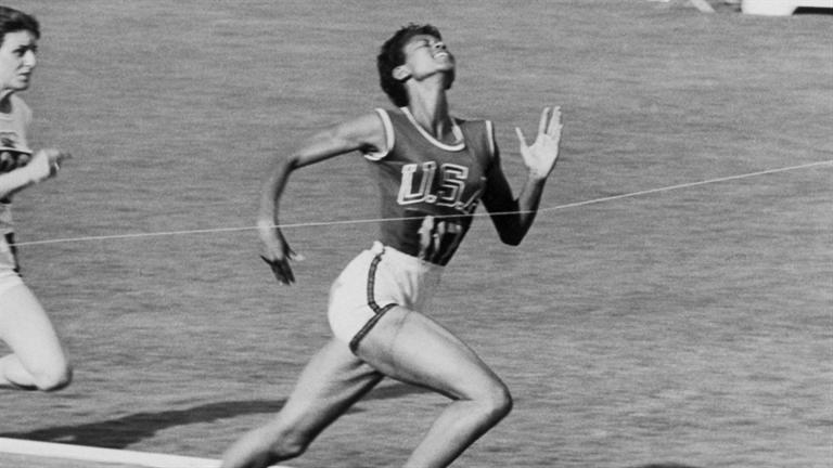 a biography and life work of wilma glodean rudolph an olympic track star President john kennedy chats in his white house office with wilma rudolph in 1961, the year after she won three gold medals at the olympic games in rome.