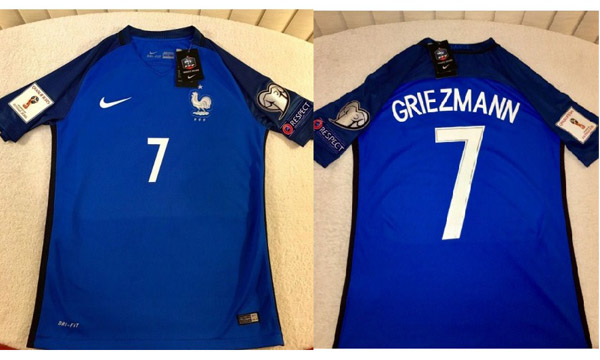 France Official Team Kit/Jersey FIFA World Cup 2018